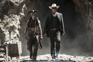 The Lone Ranger Johnny Depp Armie Hammer 2013
