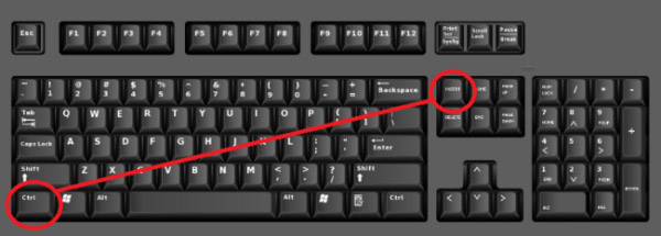 computer keyboard shortcut for copy