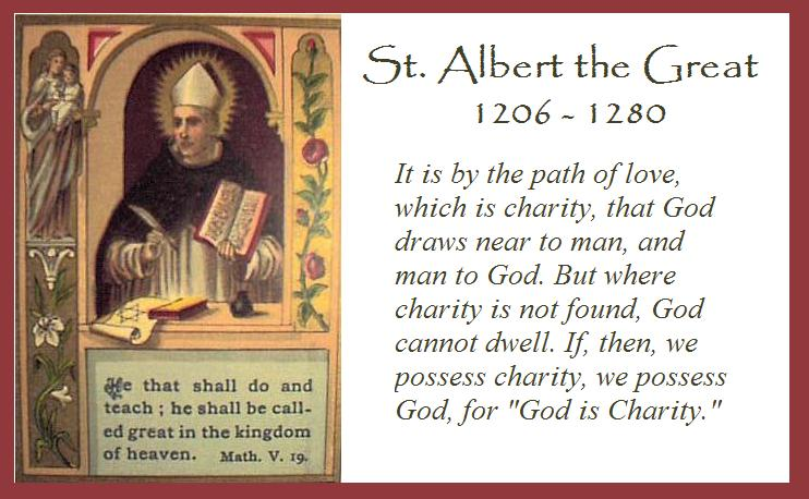 Catholic News World : Saint November 15 : St. Albert the Great ...