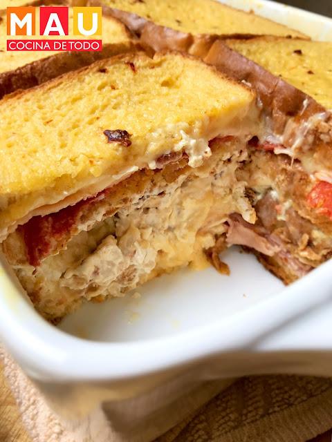 sandwichote sandwichon sandwich caliente lasaña de pan receta facil