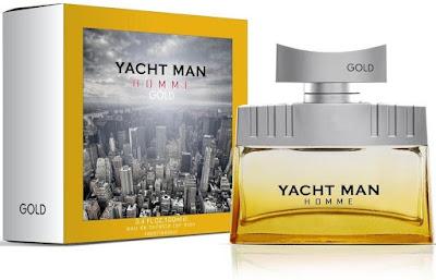 Yacht Man Gold M EDT 100ml Spray