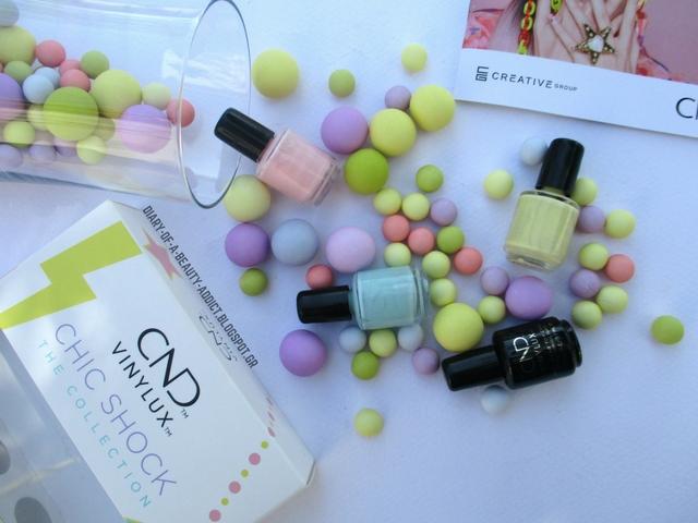 CND Chic Shock Collection║Τα ωραιότερα κουφετί pastel για την Άνοιξη