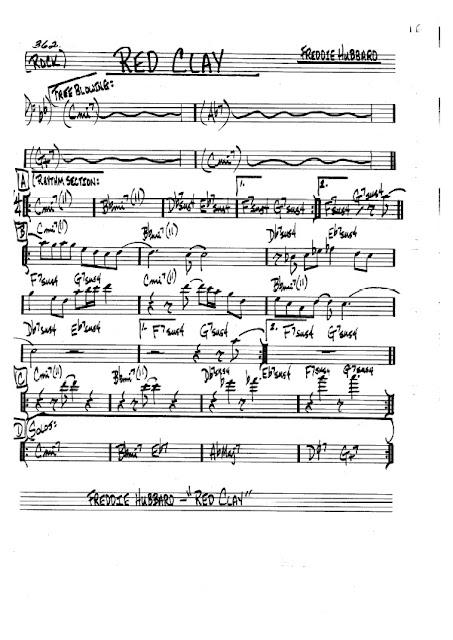 Partitura Bajo Freddie Hubbard