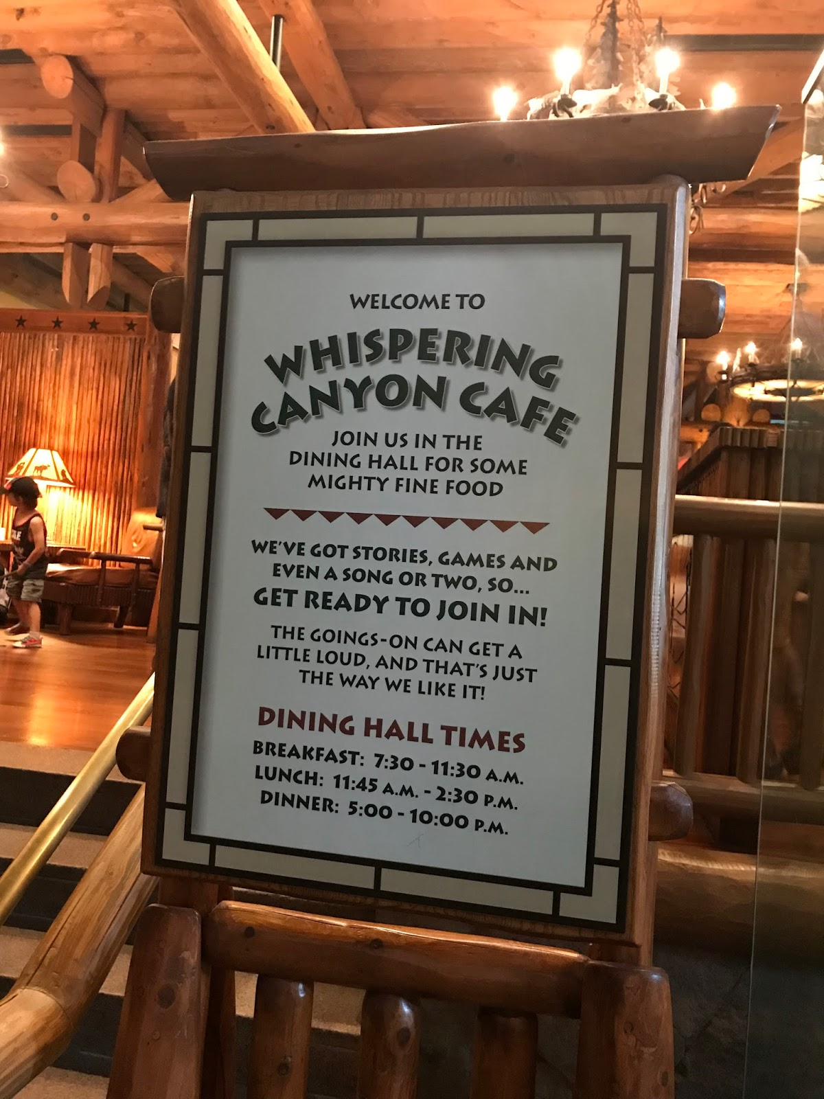 Whispering Canyon Send Off Breakfast
