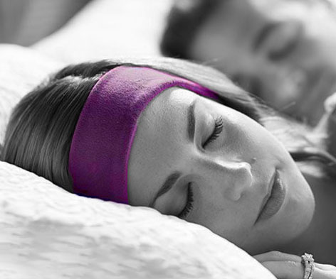 Doze off to a soothing soundtrack every night by going to bed wearing these sleeping band headphones. This Bluetooth enabled headband features a battery life of 13 hours, a wireless range of 15-30 feet, and is available in two equally soft and comfortable types of fabric.