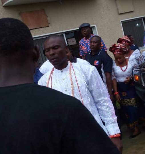 WANTED Tompolo Dares EFCC, Surfaces At Father's Burial With Police Team Guarding Him In Bayelsa; See Photos