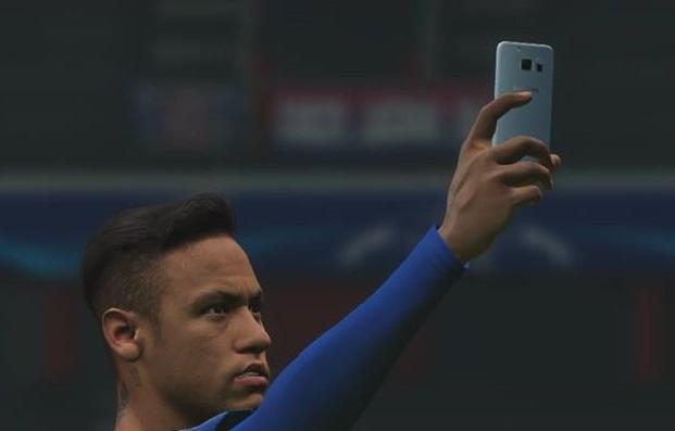 PES 2017 Samsung Galaxy Note 7 Selfie Mod by amir kaseb
