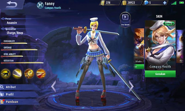 Build Item Fanny