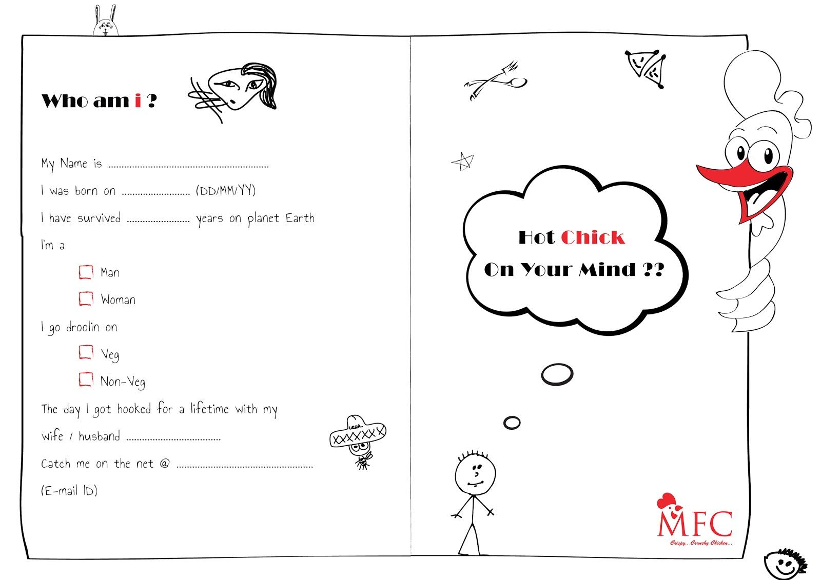 I'M A WRITER...: MFC Feedback Form
