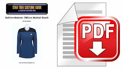 TNG medical smock costume analysis PDF