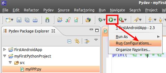 Pydev Ubuntu