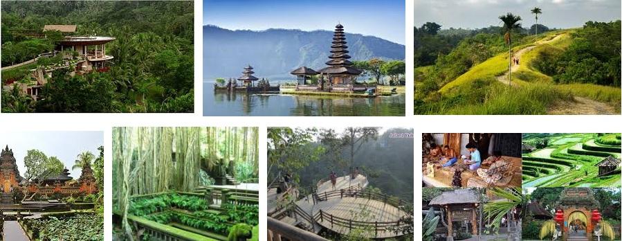 10 Tempat Wisata Terpopuler Di Ubud Bali Island Indonesia