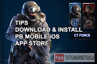 Begini Cara Download dan Install PB Mobile iOS di App Store