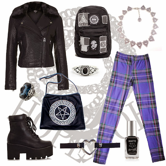 Outfit of the day inspired by The Craft