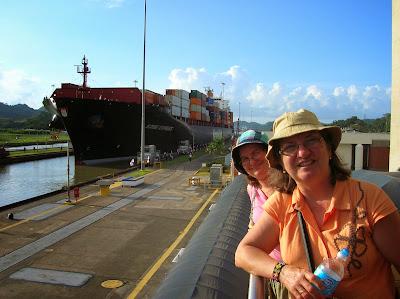 Canal de Panamá, Panama, round the world, La vuelta al mundo de Asun y Ricardo, mundoporlibre.com