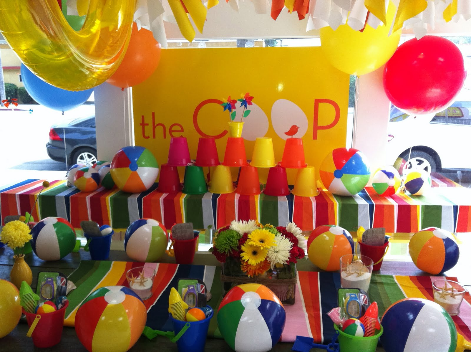The COOP: SUMMER BEACH BALL PARTY