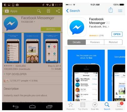 Download Facebook Messenger Login