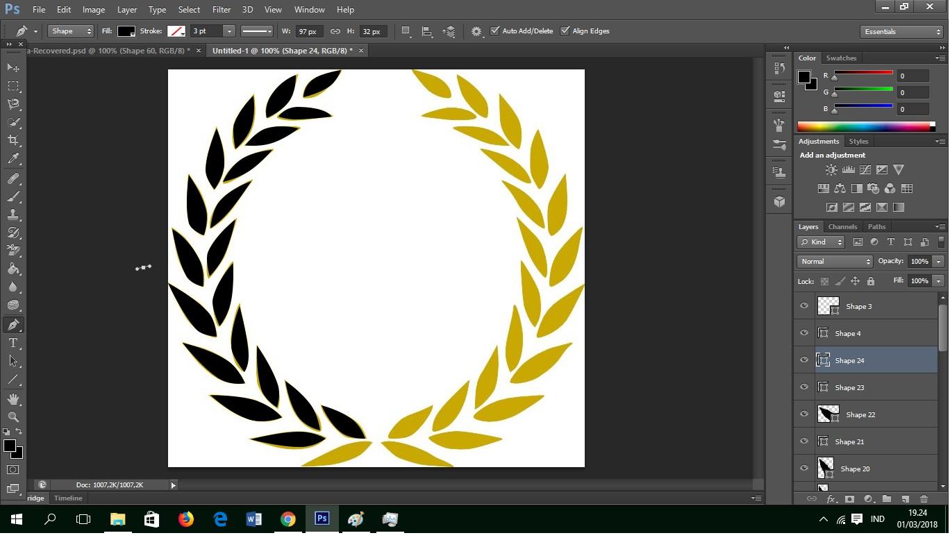 Cara Membuat Desain Logo Dengan Photoshop Desain Kreatif mudah