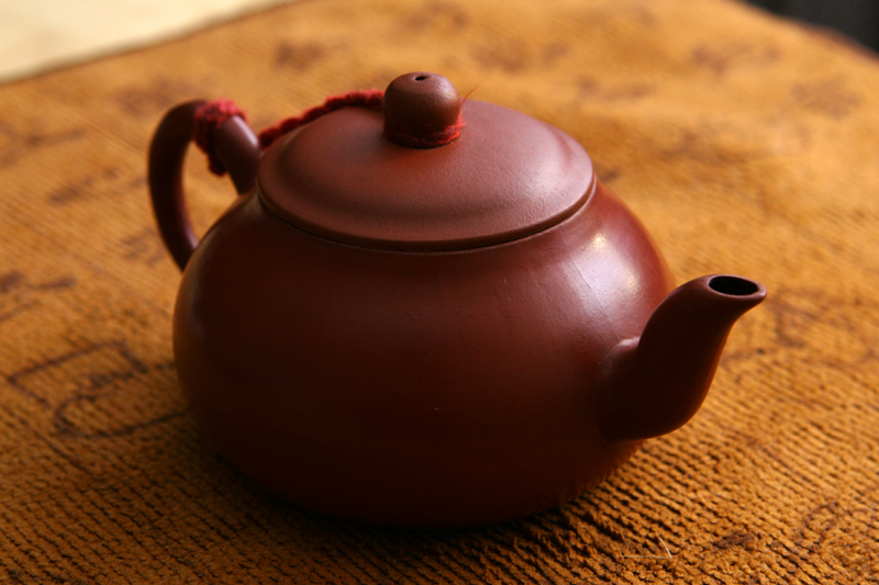 This Is My Dad Teochew Hong Ni Red Clay Teapot It The He Leaves On Tea Table For Our Relatives To Use
