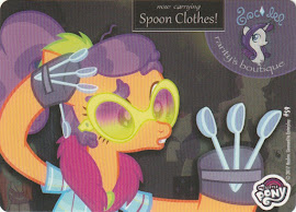 MLP Spoon Clothes Series 4 Trading Card