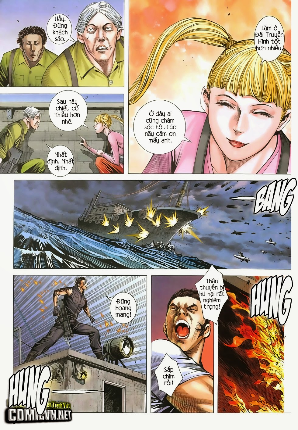 Đại Quân Phiệt chap 48: đại loạn chiến trang 9
