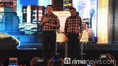 Ahok klaim PNS bangga saat dirinya pimpin Jakarta
