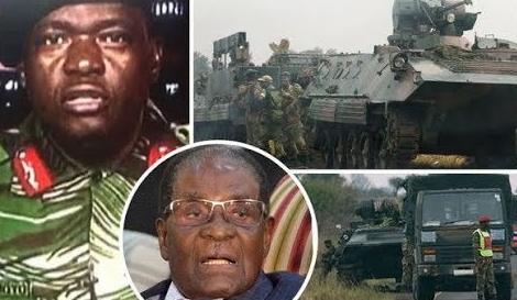 military coup zimbabwe