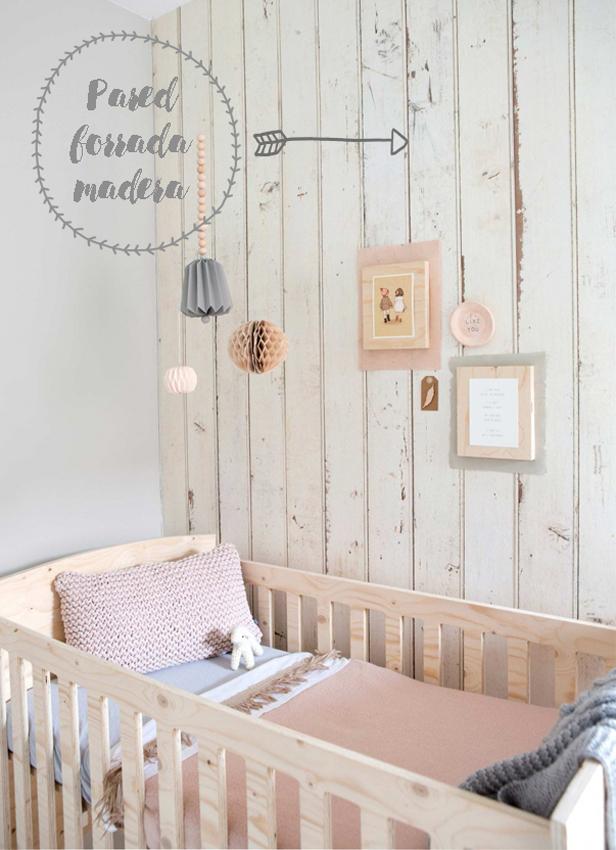 dormitorio infantil madera