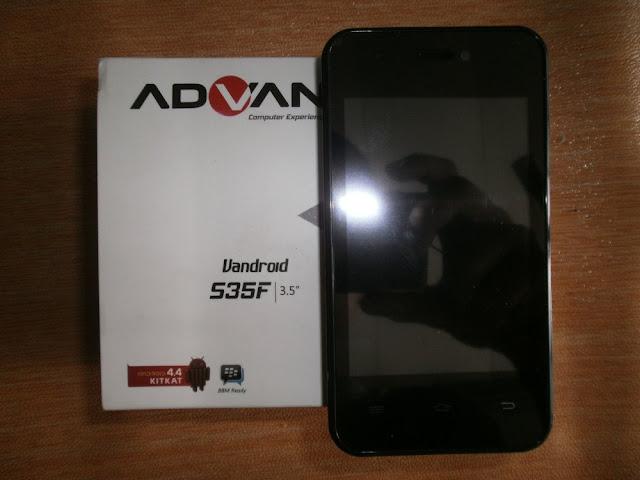 Firmware Advan S35F Flash Via Flashtool