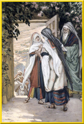 """The Visitation"" -- by James Tissot, circa 1886-1894- PD-Art-1923"