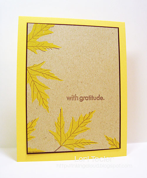 With Gratitude card-designed by Lori Tecler/Inking Aloud-stamps from Papertrey Ink