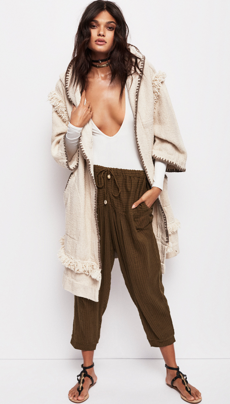 Free People Smokey Quartz Coat