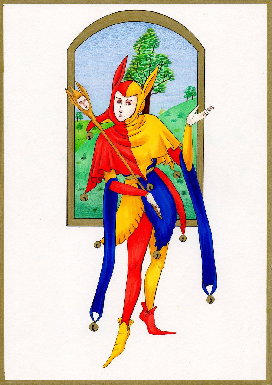 Elizabethan Era Jesters Occupations,look after the mental ...  Jester Middle Ages Wear
