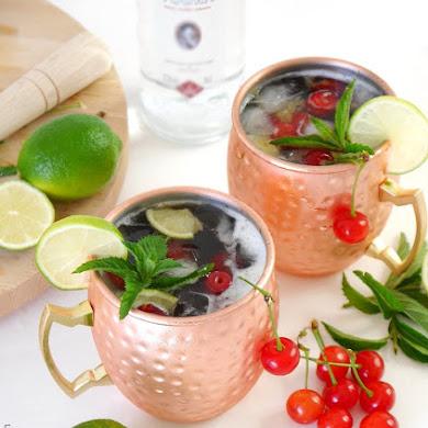 Recette Cocktail Moscow Mule aux Cerises