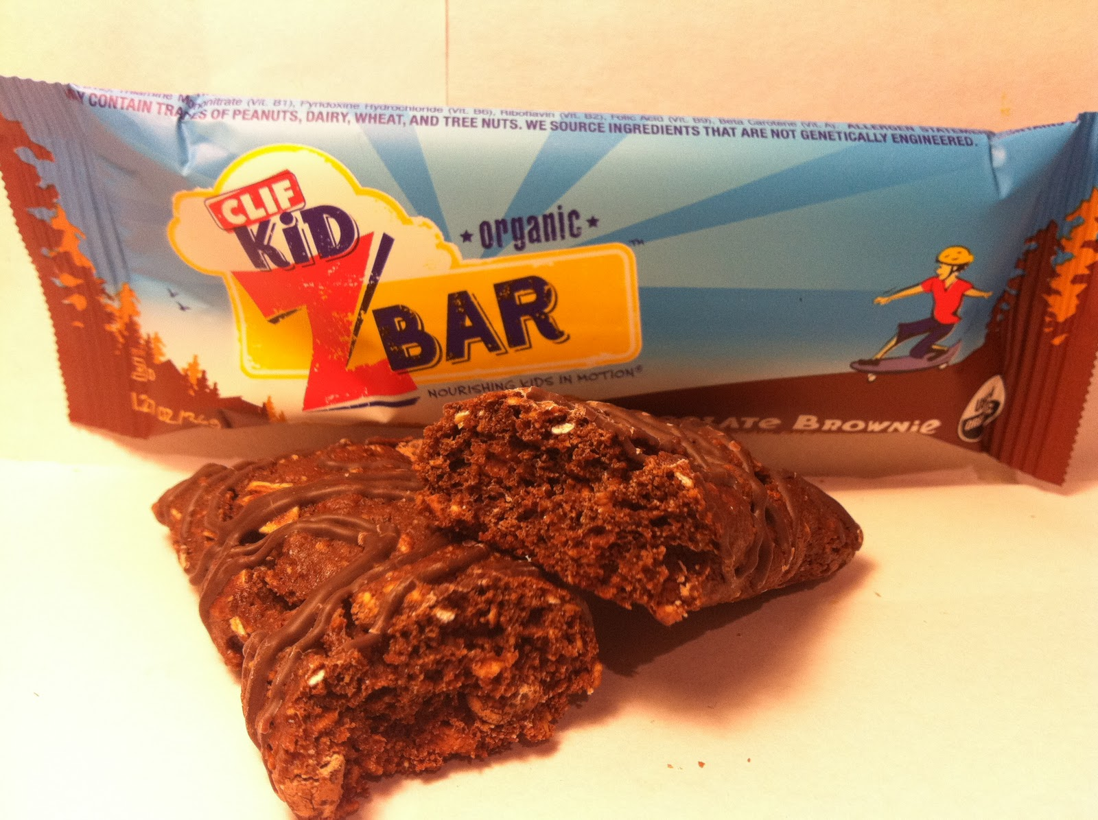 Crazy Food Dude: Review: CLIF Kid Z Bar Chocolate Brownie