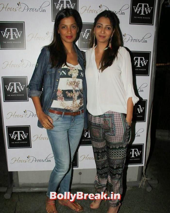 Mugdha Godse, Anjori Alagh, Twinkle Khanna at Sanvari & Anjori Alagh's Pop Up Store Launch