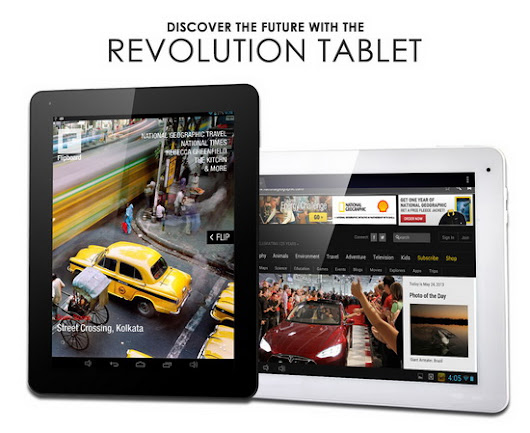 HOT! Download Android KitKat 4.4.2 stock firmware for new E-ceros Revolution tablet ~ China Gadgets Reviews