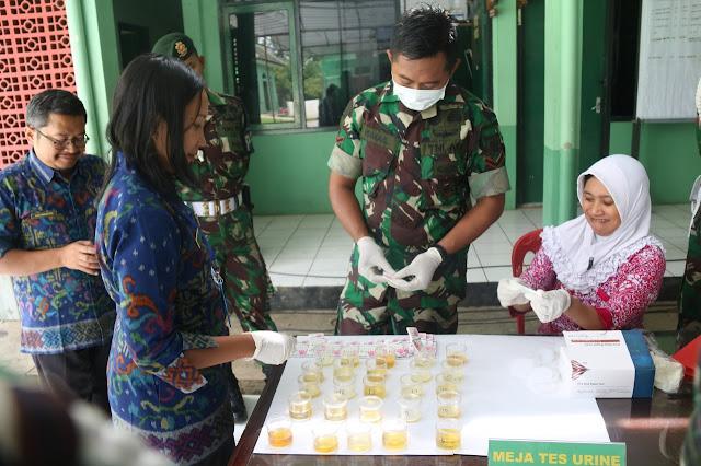 Cegah Penyalahgunaan Narkoba, Yonif MR 411 Kostrad Adakan Penyuluhan P4GN di Salatiga