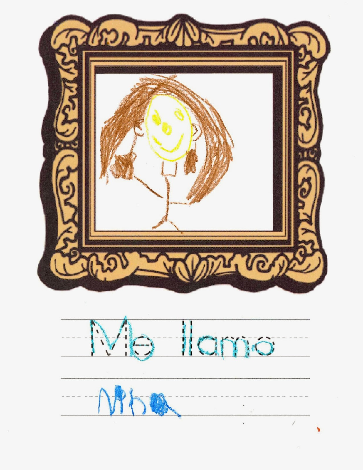 My Name Is Me Llamo Lesson