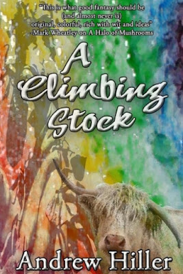 A Climbing Stock by Andrew Hiller (book cover)