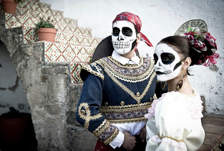 day of the dead couple - photo #12