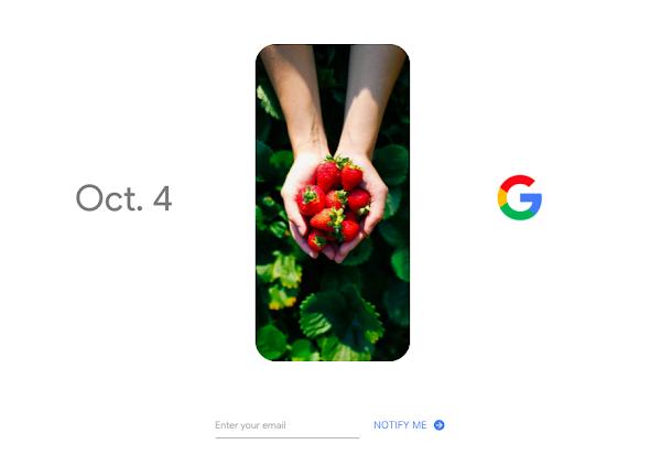 Google發出活動邀請函,10月4日發表新旗艦手機Pixel