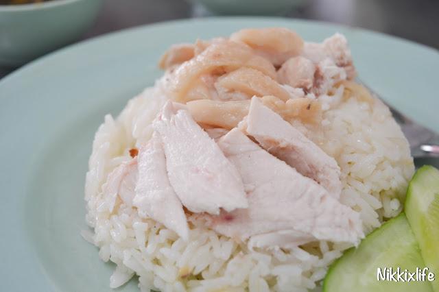 【泰國。曼谷】水門海南雞飯:老字號的平價雞肉。 7