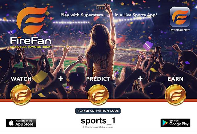 firefan sports app