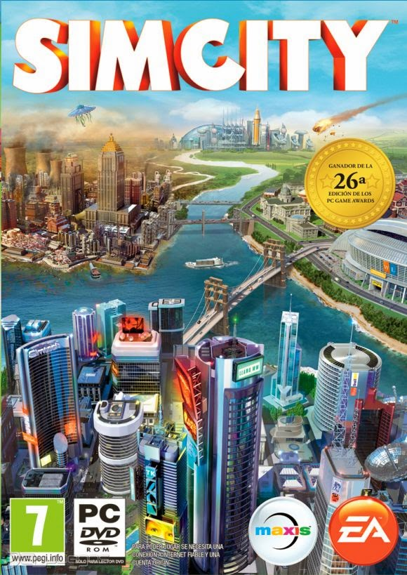 Cover Caratula SimCity PC
