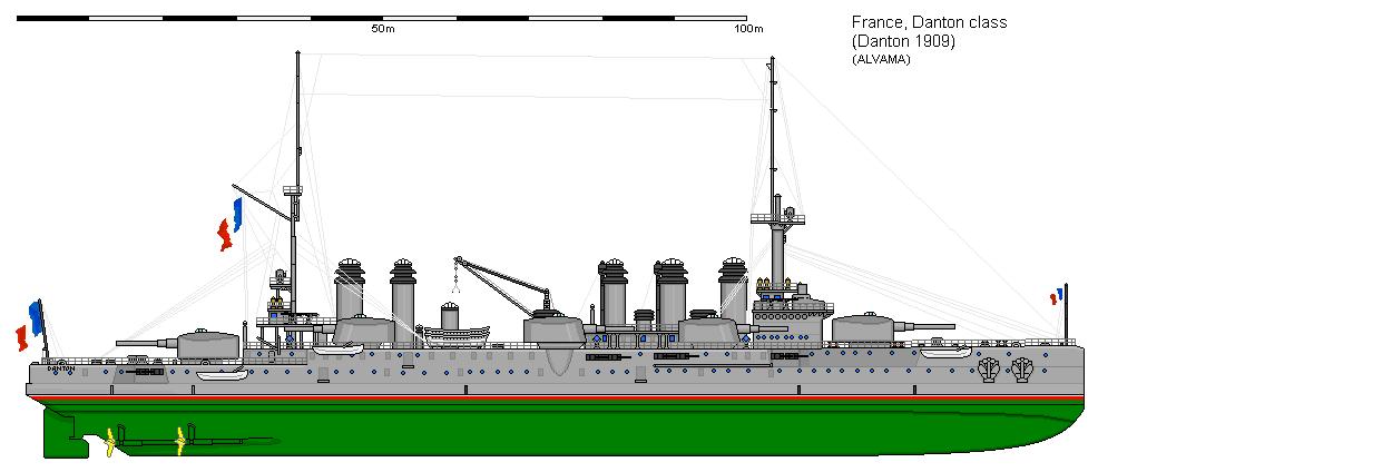 Danton class battleships full