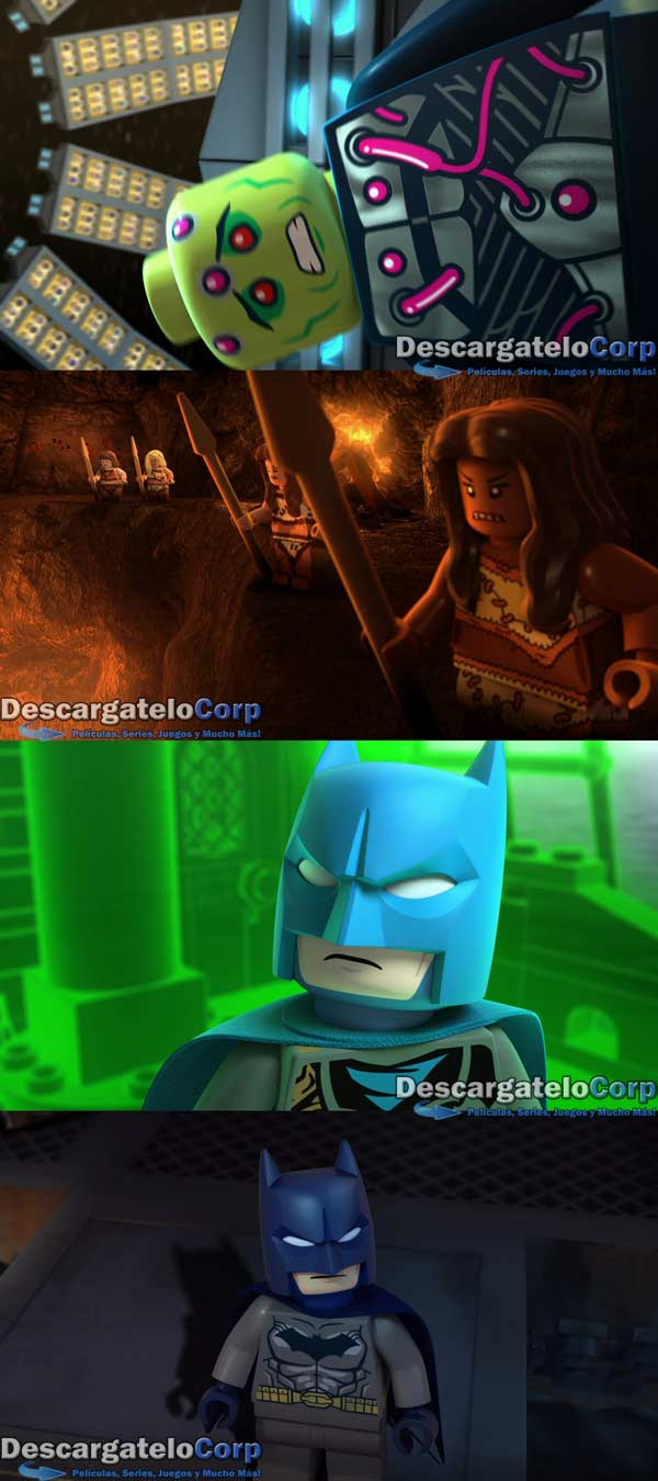 Liga de la Justicia Lego Batalla Cosmica HD 1080p Latino