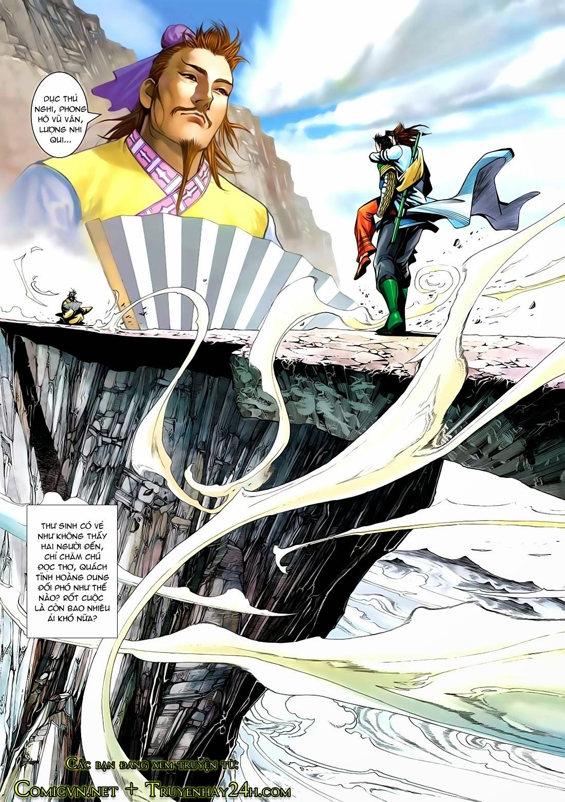 Anh Hùng Xạ Điêu anh hùng xạ đêu chap 72: ngư tiều canh độc trang 32