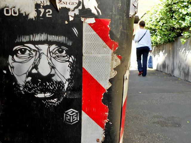 Уличное искусство Кристиана Гуеми (Christian Guémy aka C215) 51