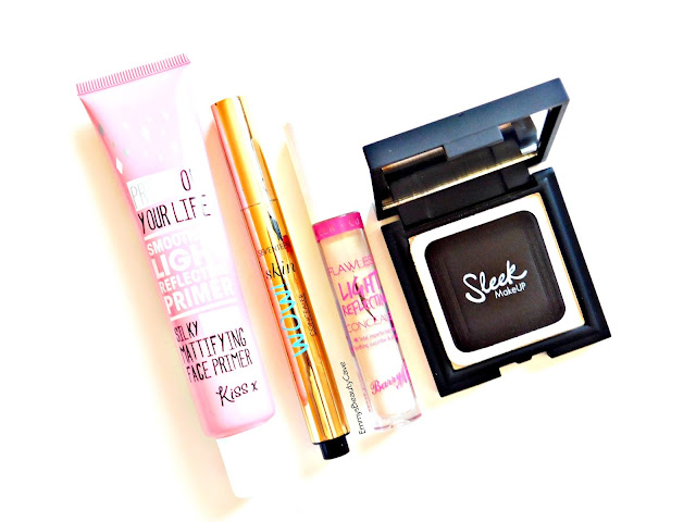Seventeen Skin wow Concealer Review, Sleek Suede Effect Powder, Barry M Concealer, Mattifying Primer